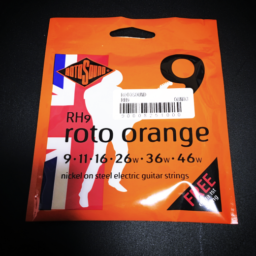 ROTOSOUND / roto orange