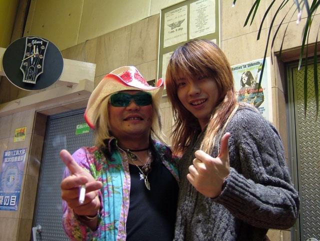 2005/12/6 サンダースネイク厚木 渡辺社長と