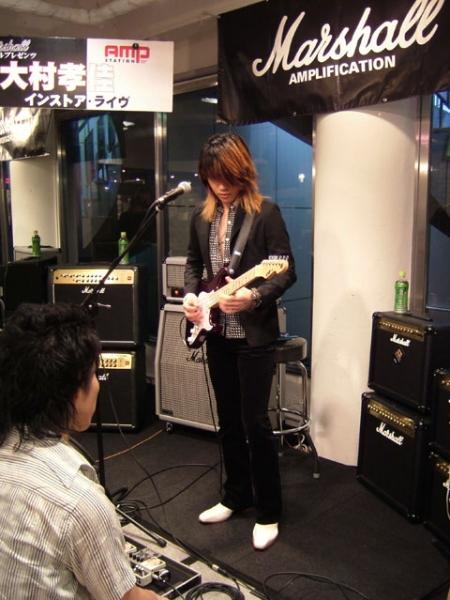 2006/7/15 イケベ楽器AMPステーション Marshallイベント