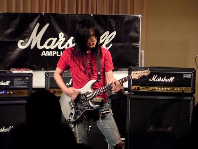 2008/2/24 昭和楽器 春日部店 Marshallイベント